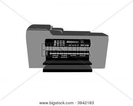 Fax Photocopier