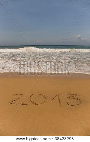 2013, Escrito na areia
