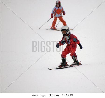 Tots On Skis