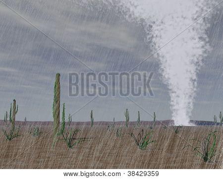 Tornado In The Desert