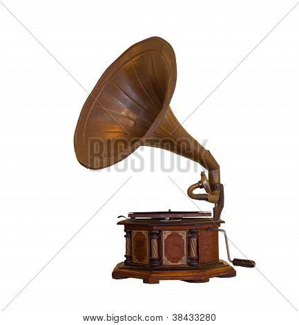 Gramophone Isolated