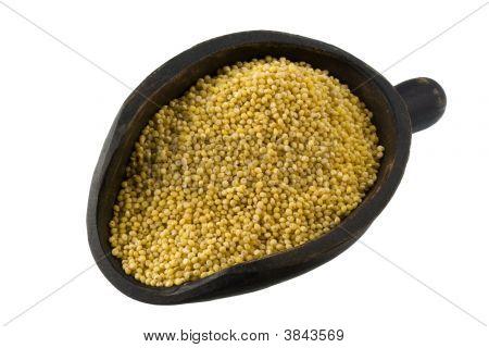 Scoop Of Hulled Millet