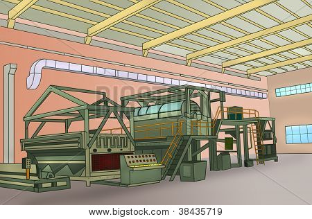BIG INDUSTRIAL MACHINERY