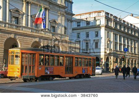 Milan City Tram