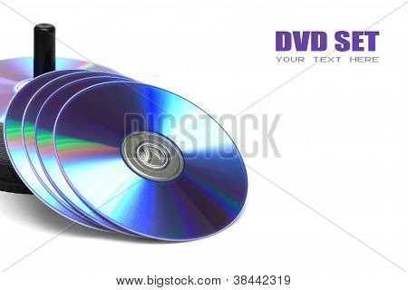 Compact Discs Isolated