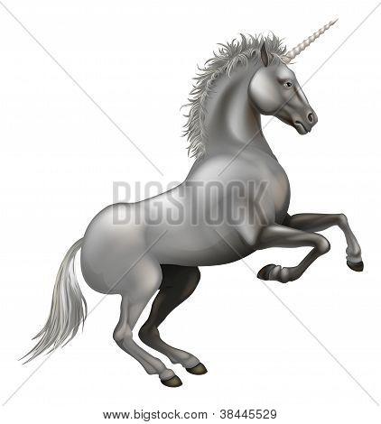 Powerful Unicorn Illustration