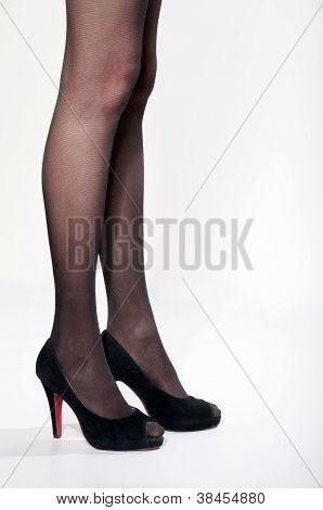 Harmonious Female Feet