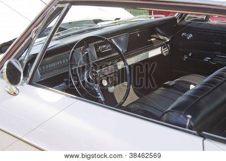 1966 Chevy Impala Interior View
