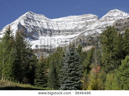 Mt. Timpanogos After Fall Snowstorm