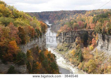 River Runs Through Gorge