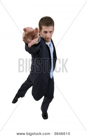 Man Giving Hand Gesture