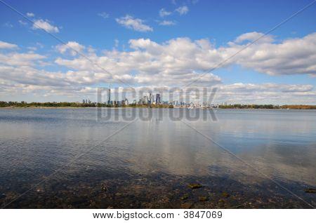 Distant Toronto Skyline