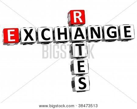 3D Rates Exchange Crossword