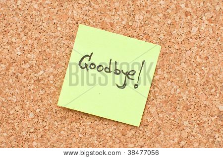 Goodbye Note