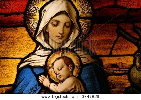 Vigin Mary With Baby Jesus