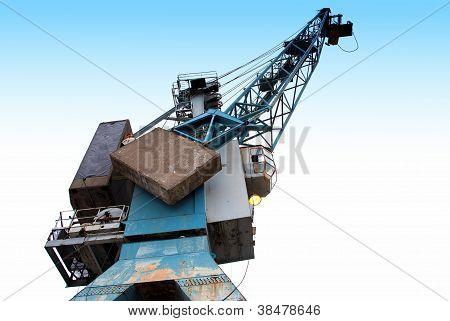 Bungee jumper Crane