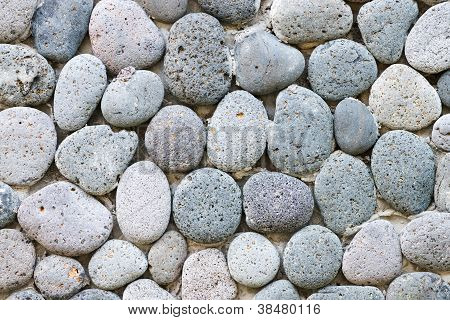 Peddle Stone Wall