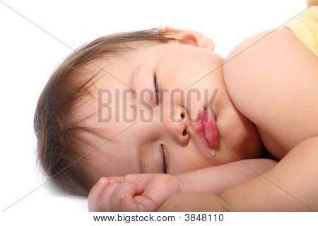 Adorable Sleeping Baby