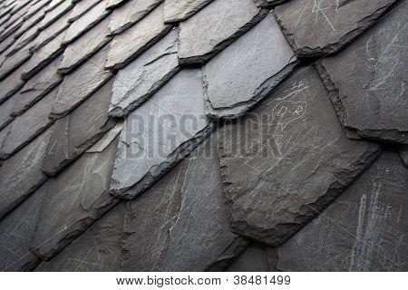 Rhomboid Aged Stone Tiling