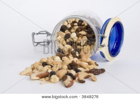 Almond And Dry Fruits With Nuts