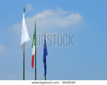 Three Flags