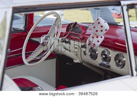 1955 Ford Crown Victoria Interior