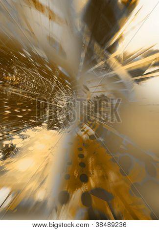 Highly Complex Golden Kaleidoscope