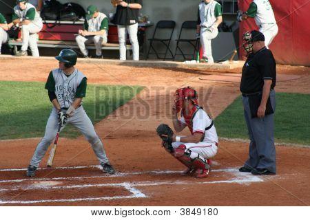 College Baseball Game