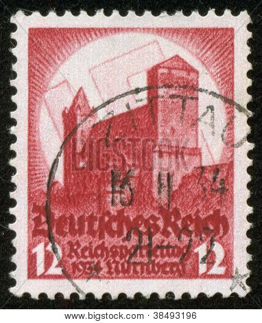 Stamp Of Fascist Germany