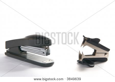 Two Staplers