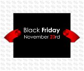 stock photo of tariff  - trendy black friday banner for your website - JPG