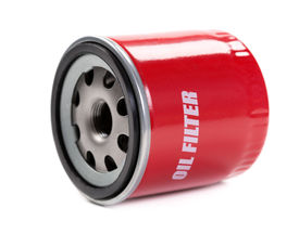 pic of lube  - New oil filter car in red steel case - JPG