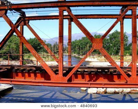 Rusty Train Bridge