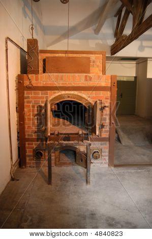 The Crematorium Oven In Dachau