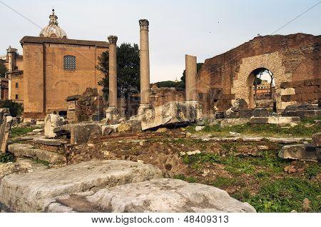 Ancient Rome, The Forum Romano