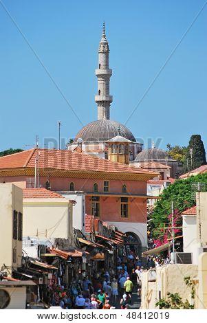 Rhodes Landmark Suleiman Mosque