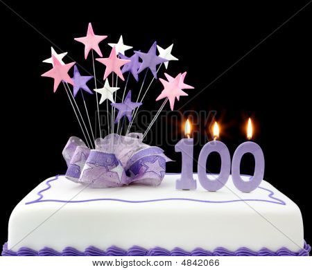 100Th Cake