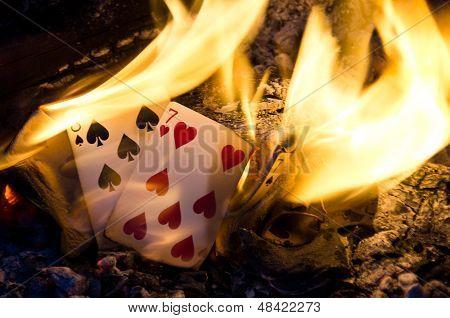 Hot Cribbage Hand