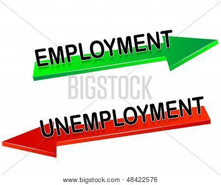 unemployment, employment