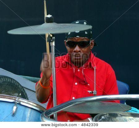 Drummer In Barbados
