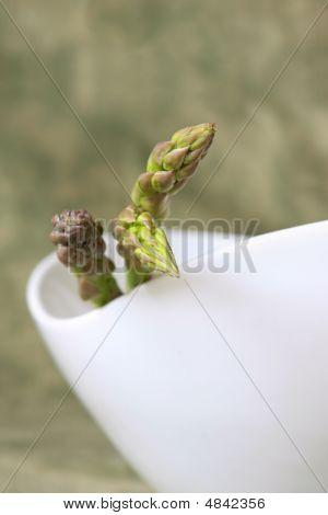 Bowl With Asparagus