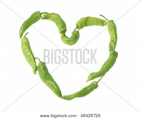 Heart Of Peppers