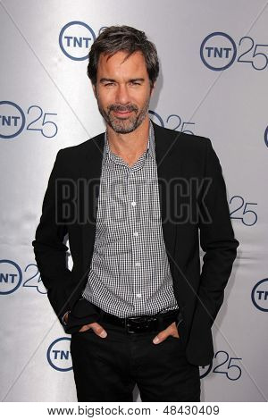LOS ANGELES - JUL 24:  Eric McCormack arrives at TNT's 25th Anniversary Party at the Beverly Hilton Hotel on July 24, 2013 in Beverly Hills, CA