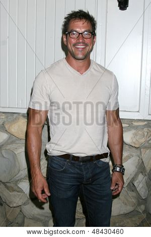 LOS ANGELES - JUL 25:  Tyler Christopher arrives at the General Hospital Fan Club Kickoff Party at the Sportsman's Lodge on July 25, 2013 in Studio City, CA