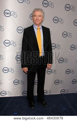 LOS ANGELES - JUL 24:  Patrick Duffy arrives at TNT's 25th Anniversary Party at the Beverly Hilton Hotel on July 24, 2013 in Beverly Hills, CA