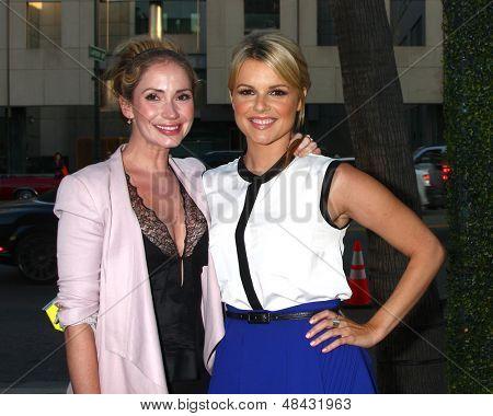 LOS ANGELES - JUL 24:  Ashley Jones, Ali Fedotowsky arrives at the