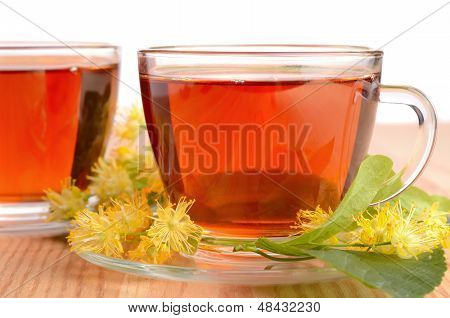 Linden Tea In Cups