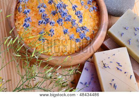 Bath Salt And Soaps