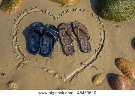 Heart Shape Footwear