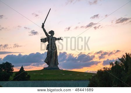 'the Motherland Calls!' Monument In Volgograd, Russia